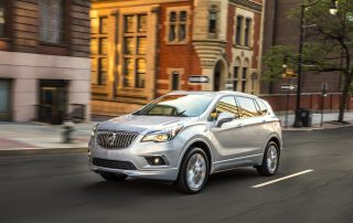 2017 Buick Envision front 3/4 view