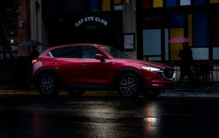 2017 CX-5 side view at night