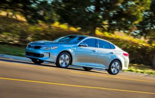2017 Kia Optima Plug-in hybrid (PHEV) sideview
