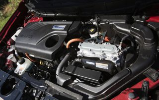 2017 Nissan Rogue and Rogue hybrid engine