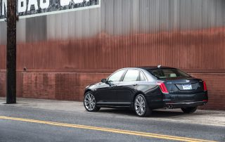 2017 Cadillac CT6 side view