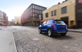 2017 Chevrolet Trax from the rear