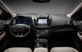 2017 Ford Escape CUV interior