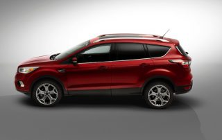 2017 Ford Escape CUV sideways
