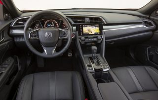 2017 Honda Civic hatchback interior