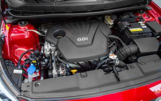 2017 Hyundai Accent engine