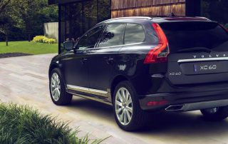 2017 Volvo XC60 from the rear