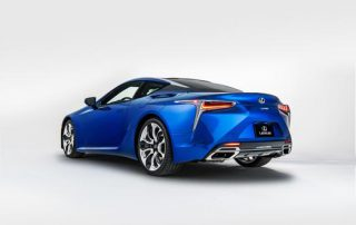 2018 Lexus LC 500 beautiful from all sides