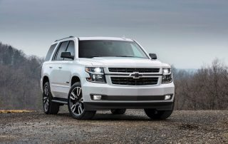 2018 Chevrolet Tahoe RST performance