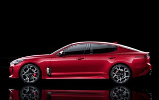 2018 Kia Stinger from the side