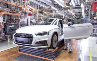 2018 Audi A5 Sportback - Assembly – Door preassembly