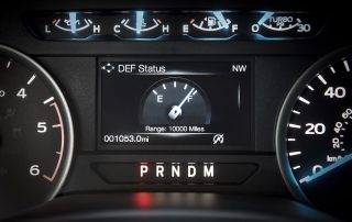 2018 Ford F150 cluster