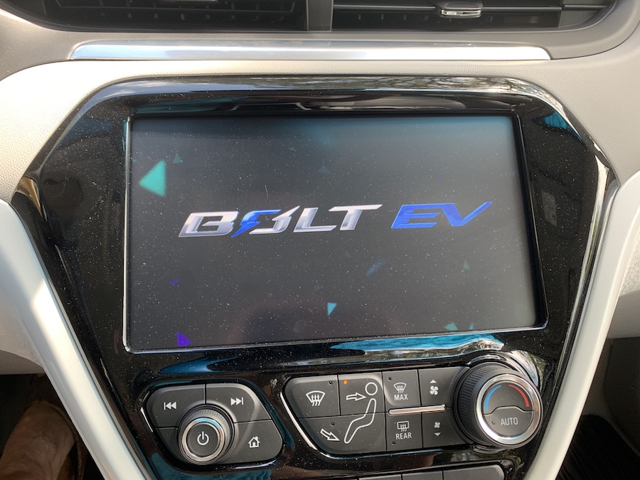 2019 Chevrolet Bolt EV big NAV
