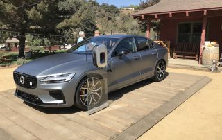 2019 Volvo S60 plug-in hybrid side view