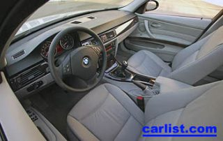 2007 BMW 328xi interior