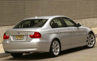 2006 BMW 3-series rear view