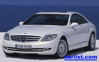 2007 Mercedes-Benz CL550 front view