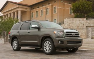 2017 Toyota Sequoia side view