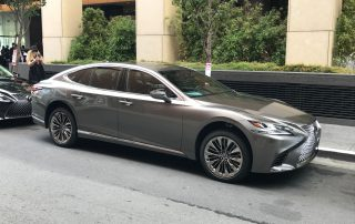 2018 Lexus LS 500 side view