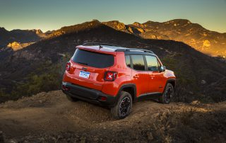 2017 Jeep Renegade on the trail