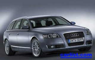 2007 Audi A6 front view