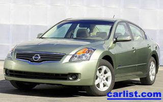 2008 Nissan Altima Hybrid front view