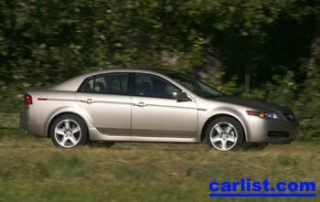 2005 Acura TL side shot