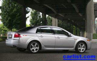 2005 Acura TL front shot