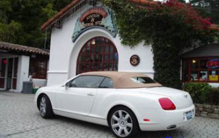 2007 Bentley GTC side view