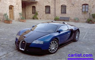 2008 Bugatti Veyron at a stand still