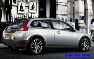 2008 Volvo C30 rear view