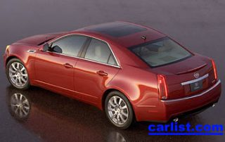 2006 Cadillac CTS-V rear view