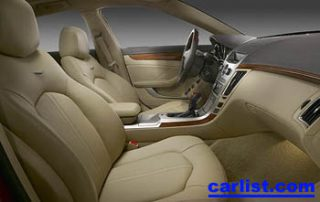 2008 Cadillac CTS Sedan interior shot