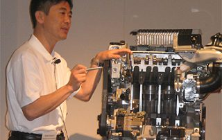 Kelvin Hirishi explains the DISI engine