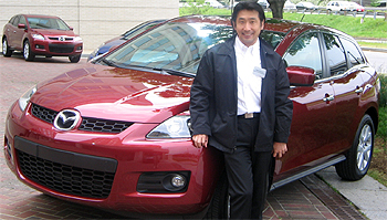 Koizumi-san is the chief designer for the CX-7