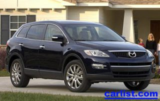 2008 Mazda CX-9 front view