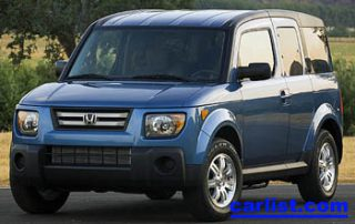 2008 Honda Element SC front view