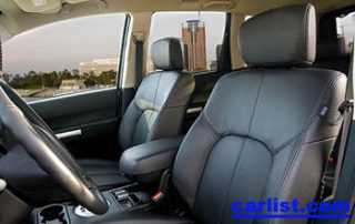 2008 Mitsubishi Endeavor interior shot