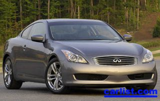 2008 Infiniti G37 Coupe front view