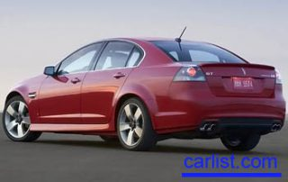 2008 Pontiac G8 rear shot