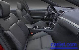2008 Pontiac G8 interior shot