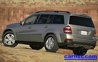 2008 Mercedes-Benz GL550 rear view