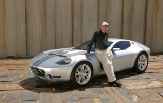 Carroll Shelby and the GR-1 concept