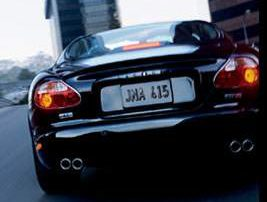 quad tailpipes must be an XK supercharged