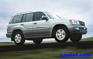 2005 Lexus LX470 new car review