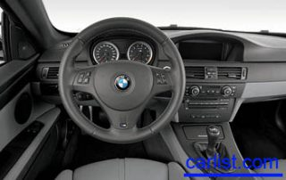 2008 BMW M3 Coupe dash