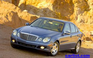 2007 Mercedes-Benz E320 BlueTec front view