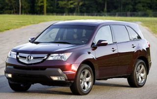 2007 Acura MDX CUV new car review