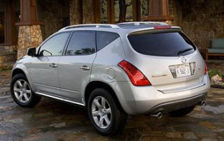 2006 Nissan Murano rear perspective w