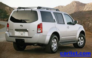 2008 Nissan Pathfinder V8 rear view